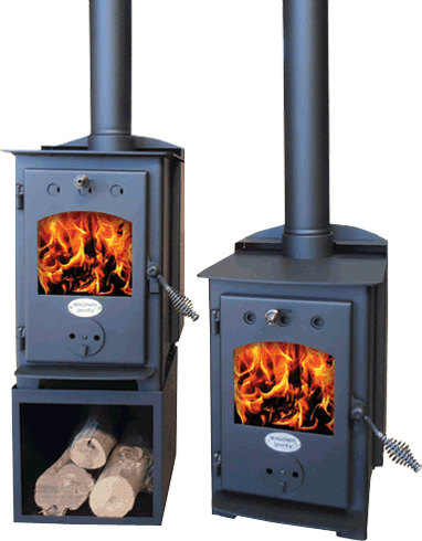 Wagener Sparky -  small wood burning stove